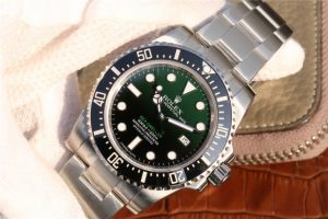 Replica Rolex Sea Dweller D Green Watch