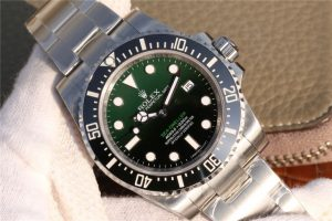 Replica Rolex Sea Dweller D Green Dial