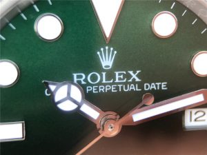 Replica Rolex Sea Dweller Green Part Dial